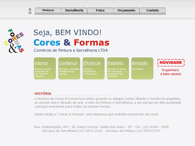CORES E FORMAS SERRALHERIA